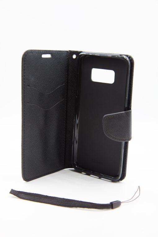 Samsung S8 луксозен кейс - черен