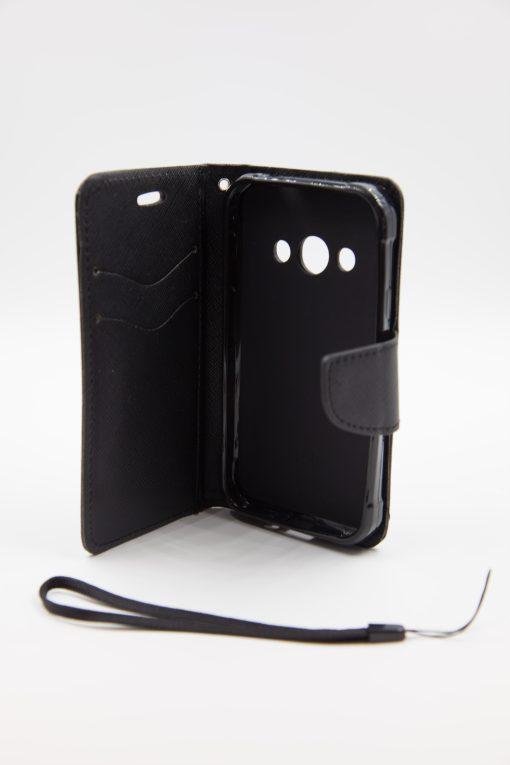 Samsung Xcover 3 луксозен кейс - черен
