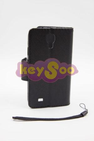 Samsung S4 луксозен кейс - черен