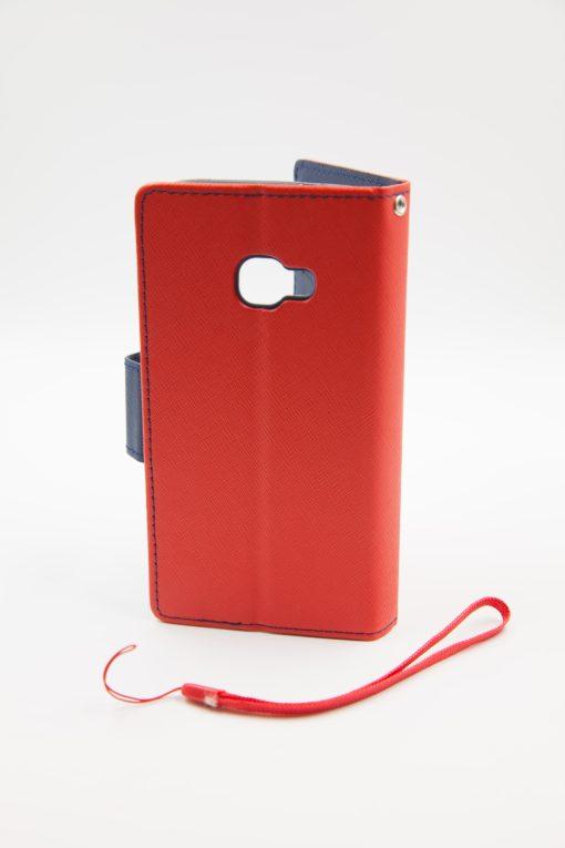 Samsung Xcover 4 луксозен кейс - червен/син