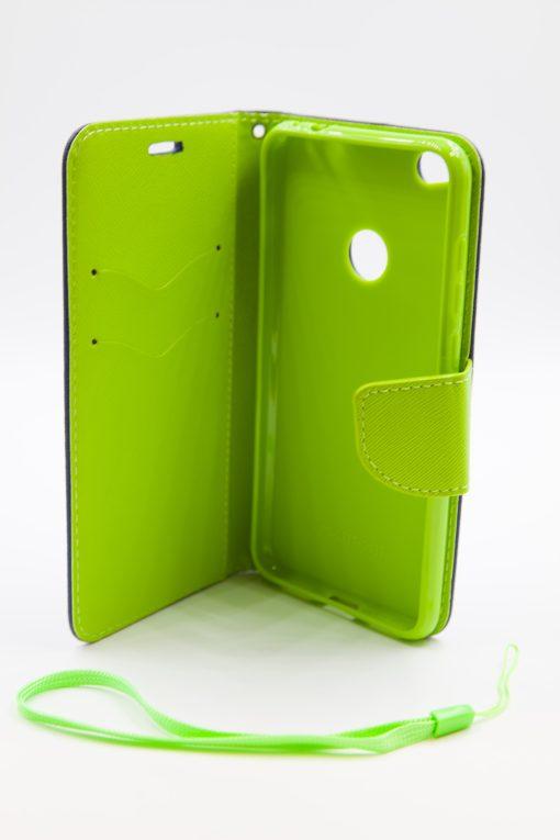 Huawei Ascend p8 lite 2017 луксозен кейс син/зелен