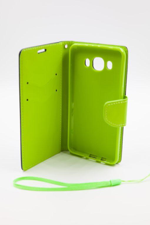 Samsung J5 2016 луксозен кейс - зелен/син