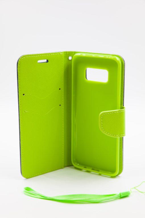 Samsung S8 луксозен кейс - зелен/син