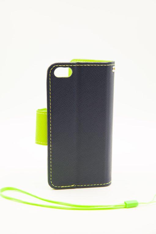 Iphone 5 луксозен кейс - син/зелен