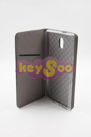 Nokia 3 Smart Case Book черен