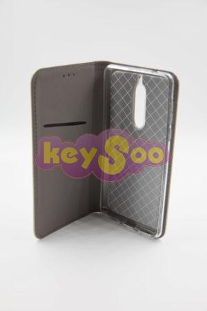 Nokia 5 Smart Case Book златен