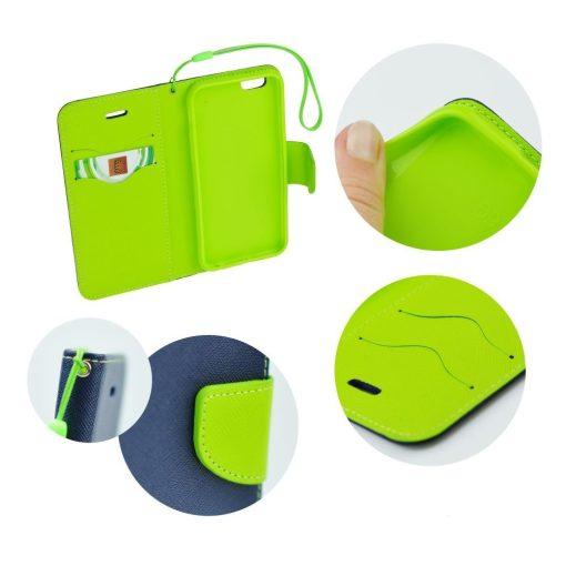 Sony Xperia E4G луксозен кейс - зелен/син