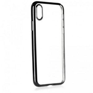 Iphone  X  ELECTRO Jelly кейс - черен
