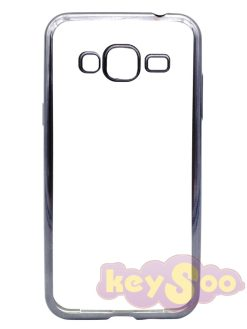 ELECTRO Jelly Case Black-Samsung Galaxy J3 2016
