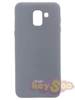 Roar Colorful Jelly Case Grey - Samsung Galaxy J6 (2018)