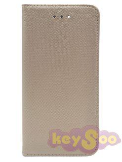 373 Smart Case Book Gold-Samsung Galaxy S7