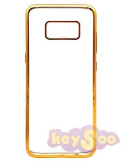 ELECTRO Jelly Case Gold-Samsung Galaxy S8
