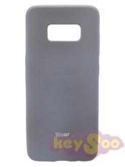 Roar Colorful Jelly Case Grey-Samsung Galaxy S8