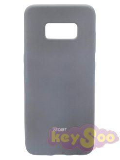 Roar Colorful Jelly Case Grey-Samsung Galaxy S8 Plus