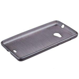 Jelly Case Brush gray Samsung S6