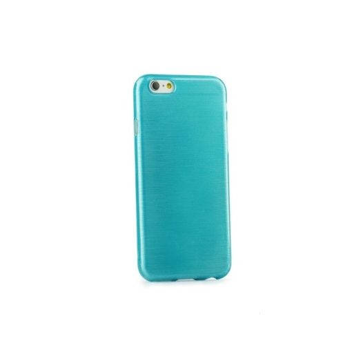 Jelly Case Brush blue Samsung S6