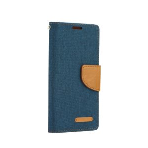 Canvas Book case navy blue Galaxy J6+