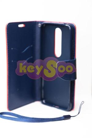 Fancy Book case red-navy 6.1 Plus ( X6)