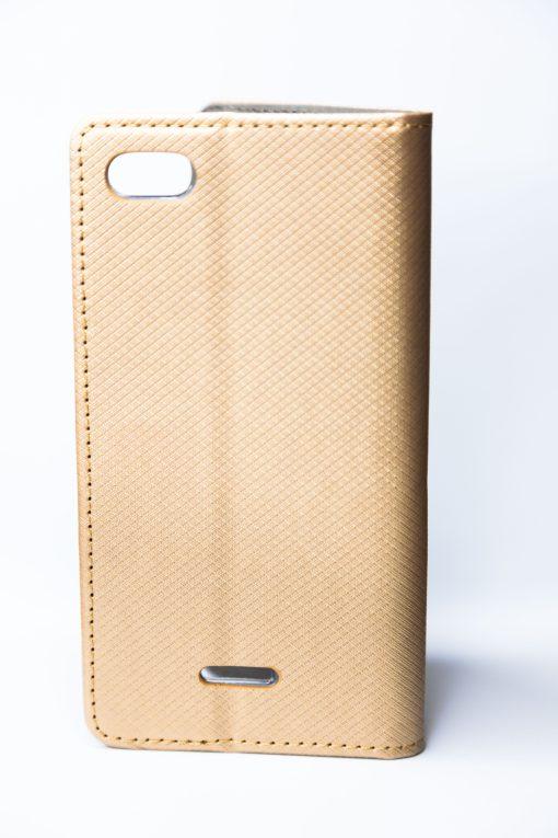 Smart Case Book gold Redmi 6A