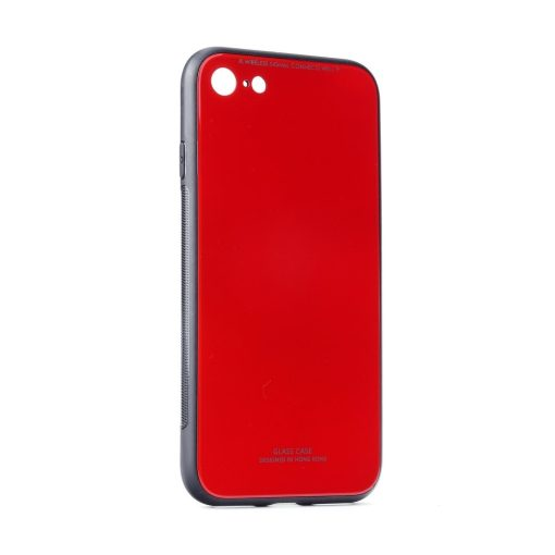 Glass Case red Mate 20 Lite