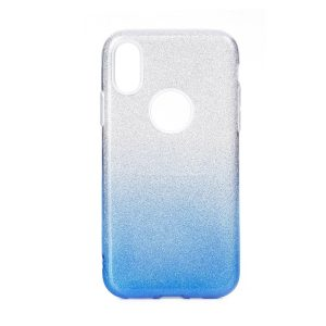 Forcell SHINING Case silver/blue Redmi S2