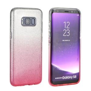 Forcell SHINING Case silver/pink Mate 20 Pro