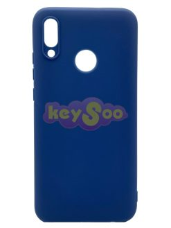 Forcell SOFT Case Dark Blue-Huawei P Smart 2019