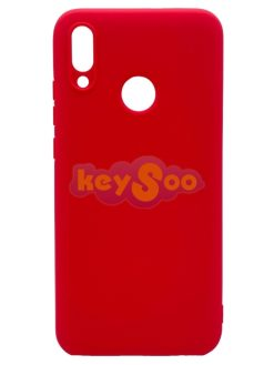 Forcell SOFT Case Red-Huawei P Smart 2019