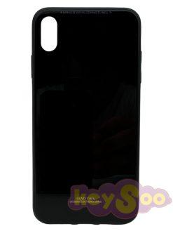 Glass Case Black -iPhone XS Max