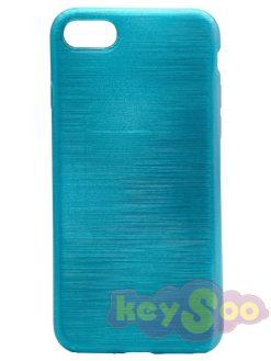 Jelly Case Brush Blue - iPhone 7