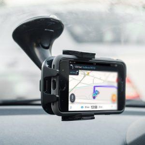 Стойка за телефон на предното стъкло на автомобила