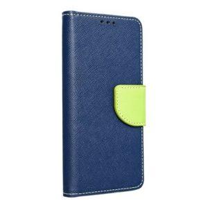 Fancy Book case navy-lime Huawei P40 pro