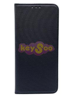 Smart Case Book Black-Huawei P30 Lite