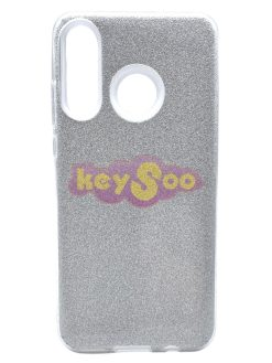 Forcell SHINING Case silver Huawei P30 Lite
