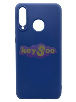 Forcell SOFT Case Dark Blue-Huawei P30 Lite