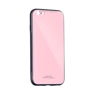 Glass Case pink Samsung S20