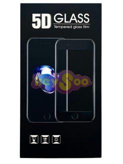 5D Full Glue Tempered Black Стъклен Протектор-Huawei P30 Lite
