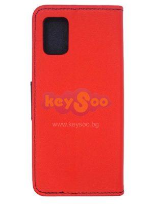 Fancy Book case red Samsung A51 5G