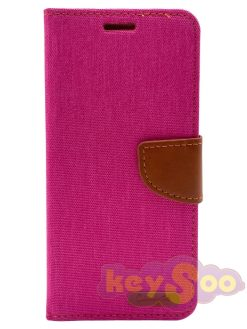 Canvas Book case pink - iPhone 11 Pro Max