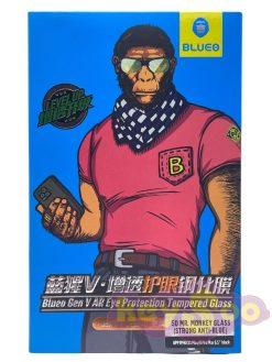 5D Mr. Monkey Glass - (Strong Anti-Blue) black -  IPhone 11 Pro Max