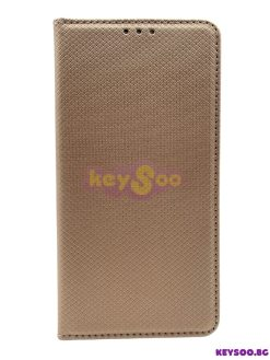 Smart Case Book Gold-iPhone 12