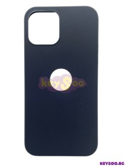 Forcell SOFT Case Black-iPhone 12