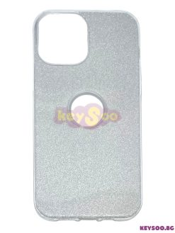 Forcell SHINING Case Silver-iPhone 12 Pro Max