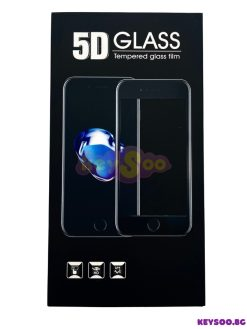 5D Full Glue Tempered Black- Стъклен Протектор 5D-iPhone 12