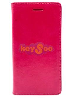 Magnet Book Case Pink-Samsung Galaxy S7