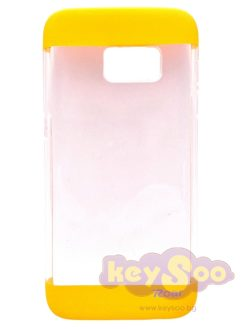 Roar Fit UP Clear Case Yellow – Samsung Galaxy S7
