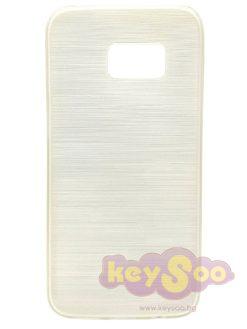 Jelly Case Brush White-Samsung Galaxy S7
