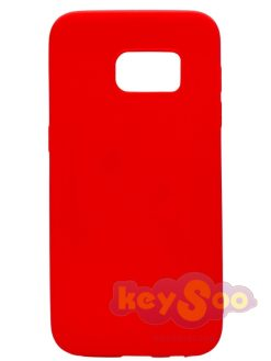 Forcell SOFT Case Red-Samsung Galaxy S7