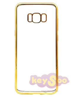 ELECTRO Jelly Case Gold-Samsung Galaxy S8 Plus