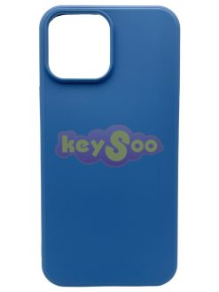 Forcell SILICONE LITE Case blue - iPhone 13 Pro Max
